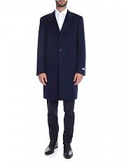 [관부가세포함][까날리] FW19 남성 코트 in blue pure cashmere (CX02308.301 57118)