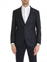 [관부가세포함][루이지 비앙키 만토바] FW19 남성 재킷 with check pattern (2354 92032/4)