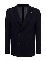 [관부가세포함][라르디니] FW20 남성 wool double-breasted 자켓 (IMLKJ2E IM55039 850)