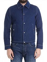 [관부가세포함][아미] Blue denim jacket (E18OW012.620 408)