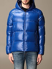 [관부가세포함][세이브 더 덕] (D3128M LUCKY 01502)  Winter 20 남성 lucky  다운 자켓 in light nylon with hood gnawed