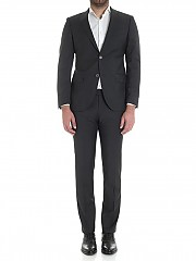 [관부가세포함][노빌레] Black melange light wool dress (3418/1 84820/3)