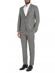 [관부가세포함][카루소] Black checked pattern wool suit (AS1JM303F 502338 0260)