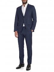 [관부가세포함][카루소] Melange blue wool suit (AS1JM213F 502017 0130)
