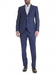 [관부가세포함][브란도] Slim suit in blue fresh wool (3416 94108/1)