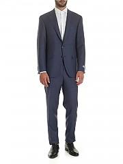 [관부가세포함][까날리] Wool suit in shades of blue (AA02161.401 15280/50)