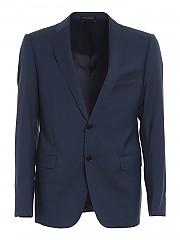 [관부가세포함][엠포리오아르마니] FW20 남성 textured wool suit (91VME T9150 2901)