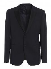 [관부가세포함][엠포리오아르마니] FW20 남성 satin lapels wool blend suit (91VMO P0150 4922)