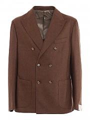 [관부가세포함][일레븐티] FW20 남성 brushed wool-cashmere blend suit (B70ABUB01 TES0B006 04)