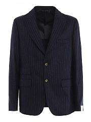 [관부가세포함][일레븐티] FW20 남성 pinstripe wool-cashmere blend suit (B70ABUA01 TES0B037 11)