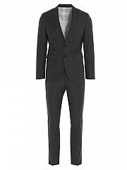 [관부가세포함][디스퀘어드2] FW20 남성 pinstripe wool suit (S74FT0406 S530330 01F)