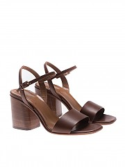 [관부가세포함][마리아크리스티나] Brown ankle-strap sandals (4985-0)