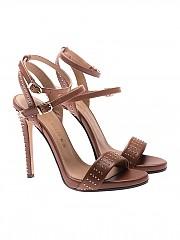 [관부가세포함][마크엘리스] Leather studded sandals (MA3018 CUOIO)