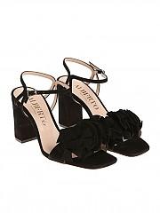 [관부가세포함][Alberto Gozzi] Black Beck sandals (BECK-219CAM NERO)