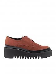 [관부가세포함][팔로미타스 바이 팔라로마 바르셀로] Brown wedge Derby shoes (M23BA-CAD TEJA)