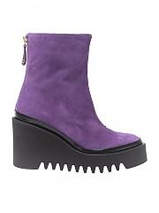 [관부가세포함][팔로미타스 바이 팔라로마 바르셀로] Purple wedge ankle boots (M77BA-HUE MORADO)