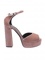 [관부가세포함][마크엘리스] Ankle-strap pink suede sandals (MA4042 ROSA)