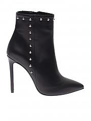 [관부가세포함][마크엘리스] Black pointy ankle boots with studs (MA4002 NERO)