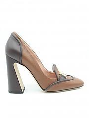[관부가세포함][알베르타 페레티]  heeled leather 로퍼 (51A600180032098)