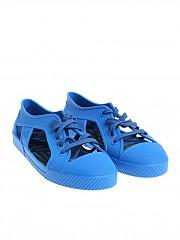 [관부가세포함][멜리사 비비안웨스트우드 앵글로매니아] Electric blue rubber shoes (32354 01690 BLUE)