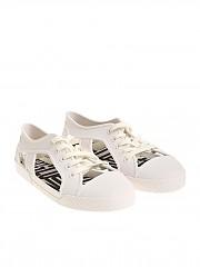 [관부가세포함][멜리사 비비안웨스트우드 앵글로매니아] White rubber shoes (32354 01177 WHITE)