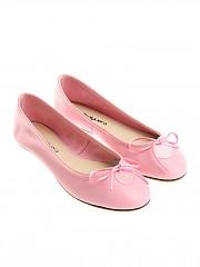 [관부가세포함][ANNA BAIGUERA] Pink ballerinas with bow (P36156)