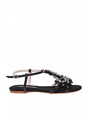 [관부가세포함][ANNA BAIGUERA] Aurora black sandals (P43431)