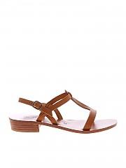 [관부가세포함][케이쟈크] Elina sandals in brown (189040 NATUREL)