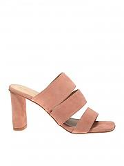 [관부가세포함][켄달카일리] Leila sandals in pink suede (LEILA MNASU-APRICOT PEACH)