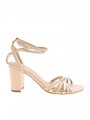 [관부가세포함][게스] Sandals in powder pink leather (FL6MD2LEA03 BLUSH)