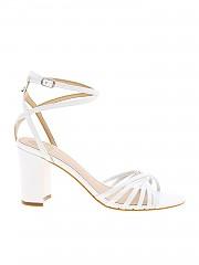 [관부가세포함][게스] Sandals in white with weaves (FL6MADLEA03 WHITE)