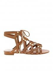 [관부가세포함][게스] Ramonda sandals in brown (FL6RAMLEA03 BROWN)