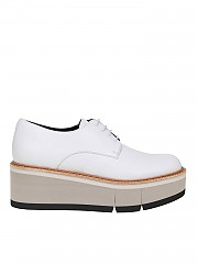 [관부가세포함][팔로마바르셀로] Dulce Derby shoes chalk colored leather (DULCE GESSO-CLA)