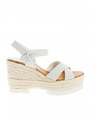 [관부가세포함][팔로마바르셀로] Haru sandals in white nappa leather (HARU WHITE)