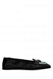 [관부가세포함][지아니코] SS20 여성 플랫슈즈 G(GI003205GG BLACK)