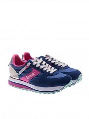 [관부가세포함][에토닉] Blue and fuchsia Eclipse sneakers (ET8113251 32.WHITE/NAVY/FUCHSIA)