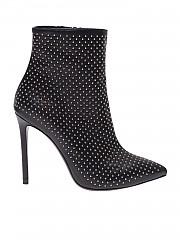 [관부가세포함][마크엘리스] Pointy black ankle boots with studs (MA4003 NERO)