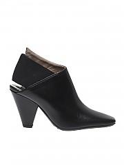 [관부가세포함][에토레 라미] Black shoes with squared tip (I18-EL28001-AL)