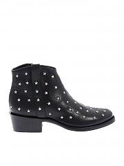 [관부가세포함][MEXICANA] Etoile 3 texan boots in black with stars (BL2430-4 BLACK)
