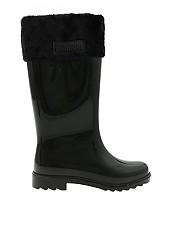 [관부가세포함][멜리사] Rain Boot Boots in black (32586 50481)