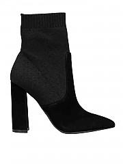 [관부가세포함][켄달카일리] FW19 여성 Satchel 부티 in black (SATCHEL BLACK)