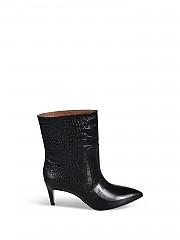 [관부가세포함][PARIS TEXAS] FW20 여성 crocus leather 앵클부츠 (PX509-XCAG2 NERO)