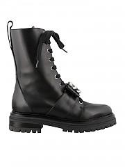 [관부가세포함][세르지오로시] FW20 여성 black leather 앵클부츠 (A90840-MMV120-1000)
