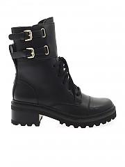 [관부가세포함][DKNY] FW20 여성 워커부츠 (K3052117 SMOOTH CALF BLACK BLK)