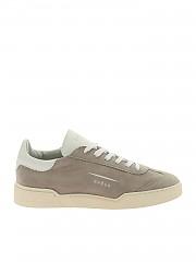 [관부가세포함][GHOUD VENICE] Lob 01 gray sneakers in suede leather (L1LM SL46)