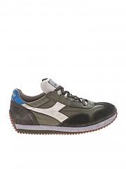 [관부가세포함][디아도라 헤리티지] Equipe H Dirty Stone Washevo sneakers in green (201.174736 01 70431)