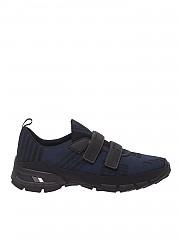 [관부가세포함][프라다스포츠] Blue and black 남성 스니커즈 with velcro (4O3219 2OD2 F0C6D)