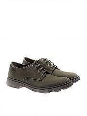 [관부가세포함][PEZZOL] Army green Derby shoes (043FZ-04 ARCHIVIO 62)