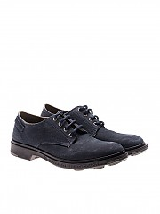 [관부가세포함][PEZZOL] Blue Derby shoes (043FZ-07 ARCHIVIO 62)