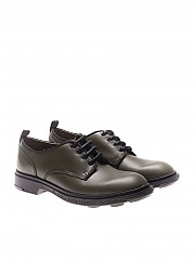 [관부가세포함][PEZZOL] Army green Academy derby shoes (042FZ-43 ACADEMY)